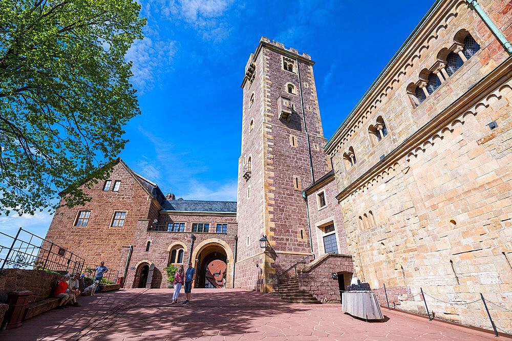 Unesco world heritage sight Wartburg castle, Thuringia, Germany