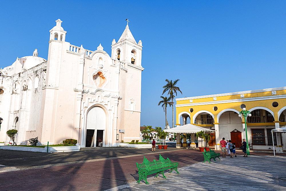 Unesco world hertiage sight Mexico Tlacotalpan, Veracruz, Mexico