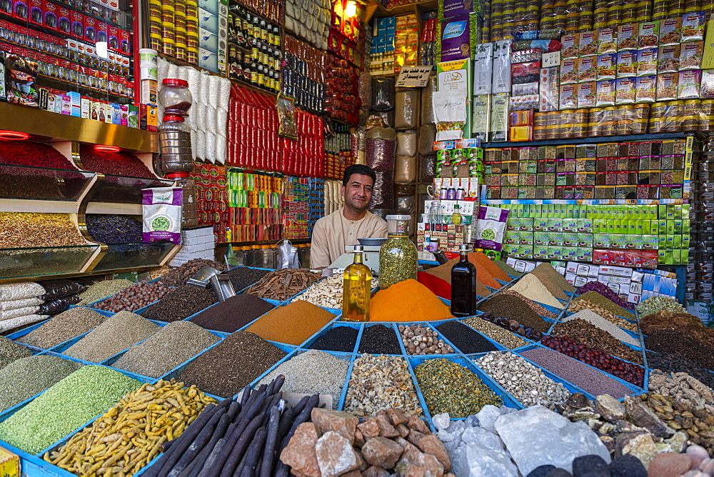 Local trader, Herat, Afghanistan - 1184-3476