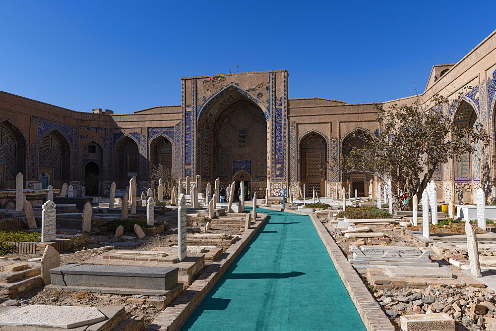 Shrine of Khwaja Abd Allah, Herat, Afghanistan, Asia