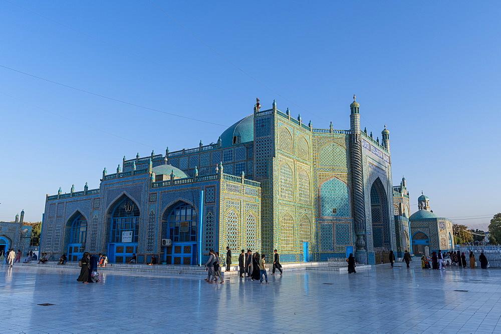 Blue Mosque, Mazar-E-Sharif, Afghanistan, Asia