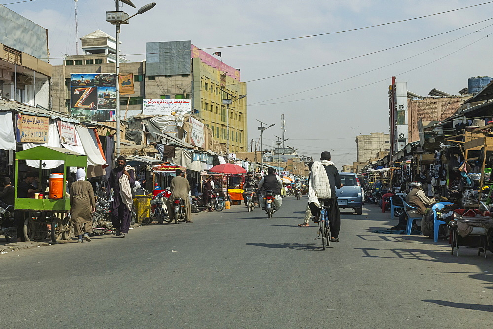 Bazaar of Kandahar, Afghanistan, Asia