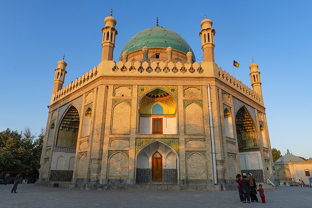 Shrine of the Cloak, Ahmad Shah Durrani Mausoleum, Kandahar, Afghanistan, Asia