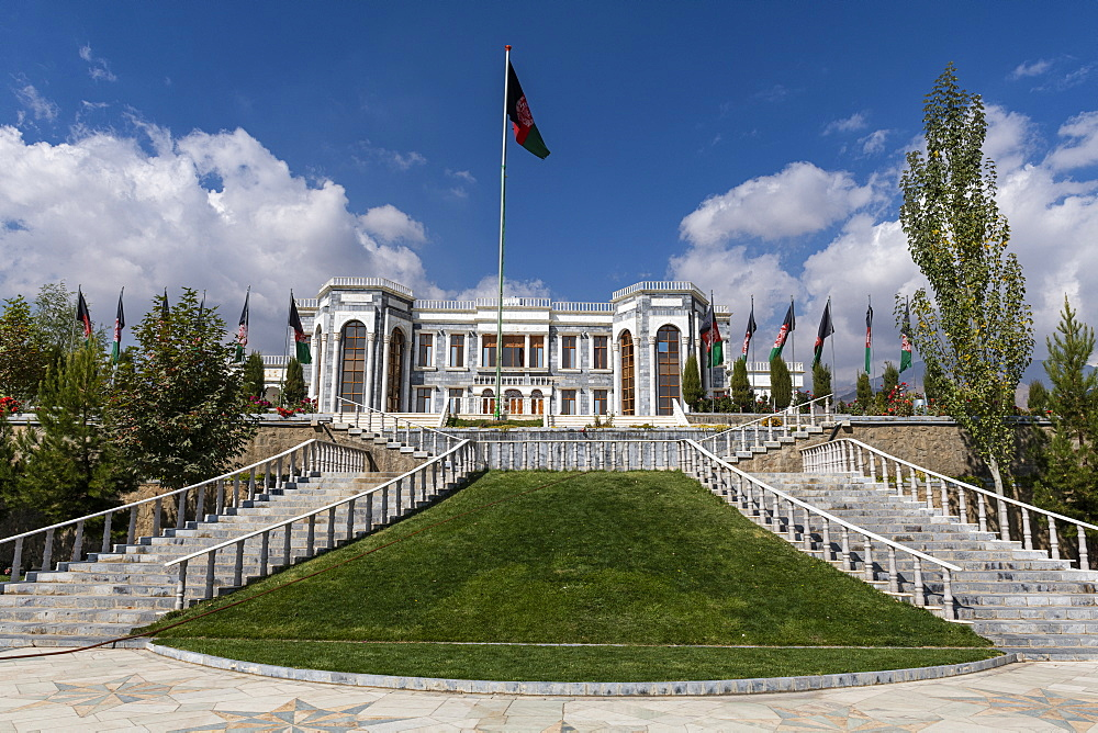 Paghman Hill Castle and gardens, Kabul, Afghanistan