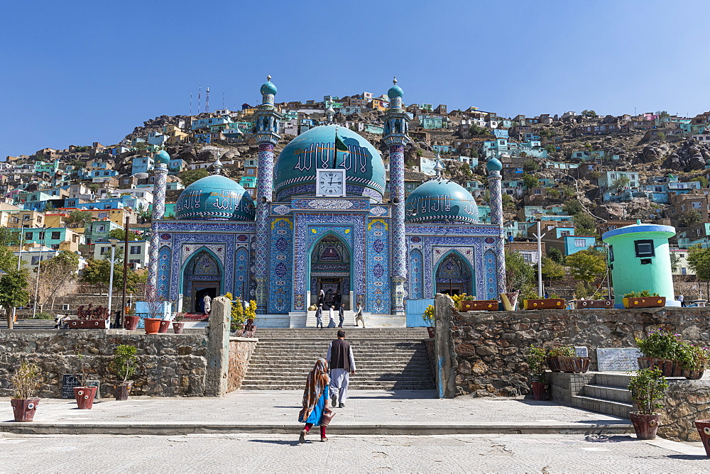 Sakhi Shah-e Mardan Shrine (Ziyarat-e Sakhi), Kabul, Afghanistan, Asia