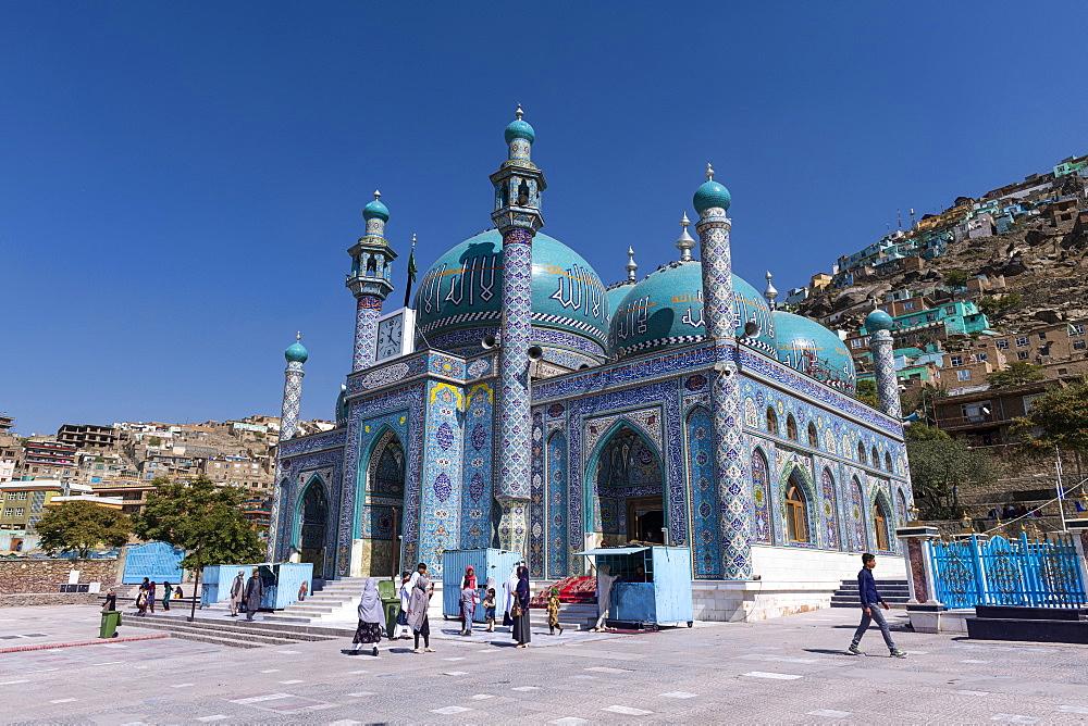 Sakhi Shah-e Mardan Shrine or Ziyarat-e Sakhi, Kabul, Afghanistan - 1184-3517