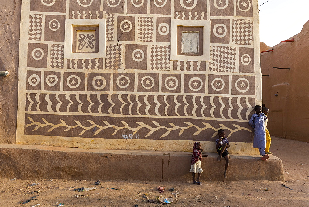 Traditional architecture, UNESCO World Heritage Site, Agadez, Niger, West Africa, Africa
