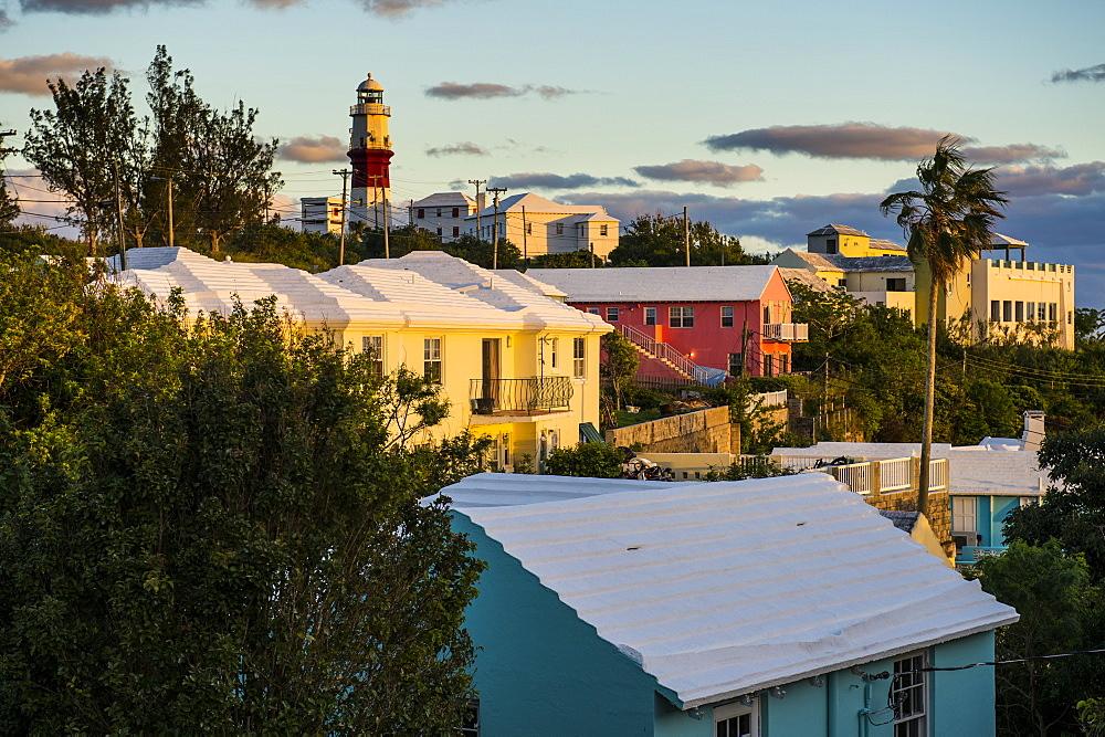 St. David's Lighthouse, St. Davids island, Bermuda, North America