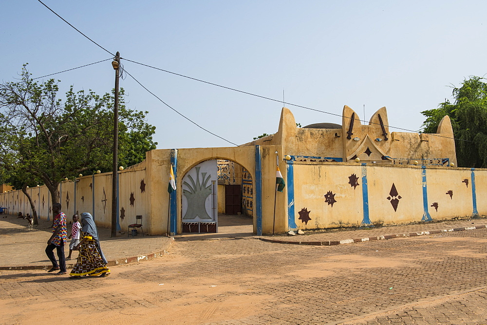 Sultans Palace of Koure, Niger, West Africa, Africa