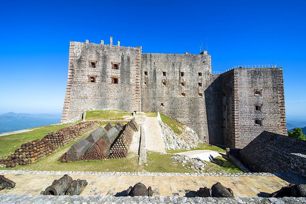 Citadelle Laferriere, UNESCO World Heritage Site, Cap Haitien, Haiti, Caribbean, Central America