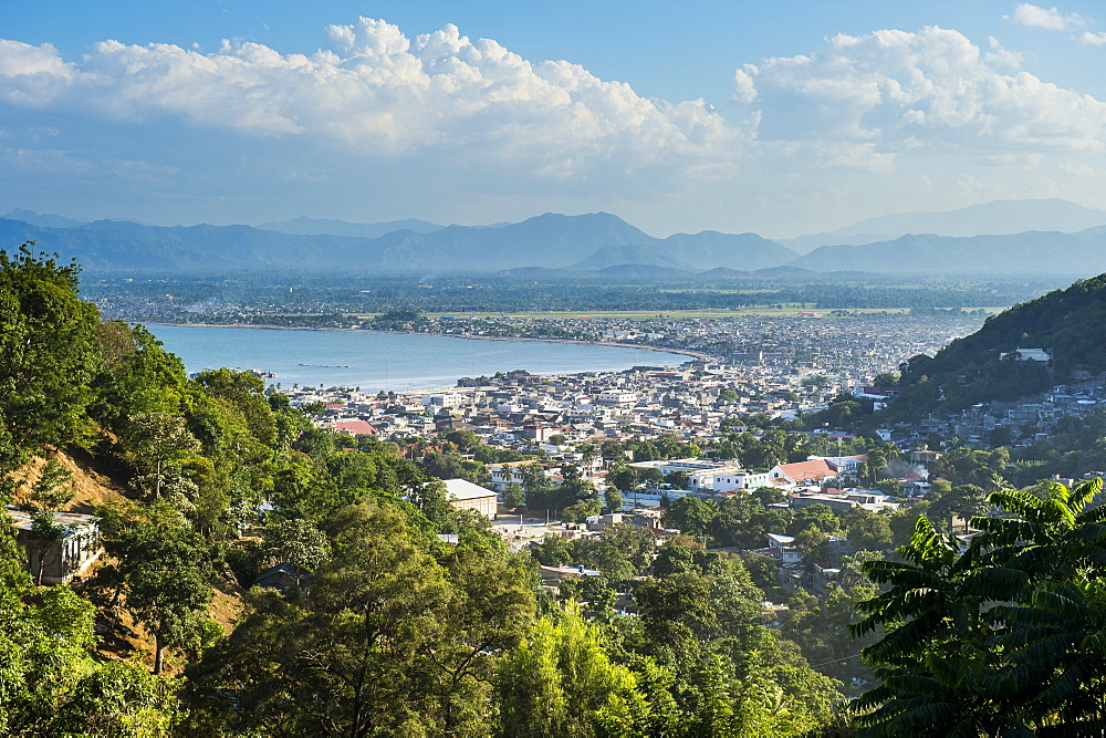 View over Cap Haitien, Haiti, Caribbean, Central America