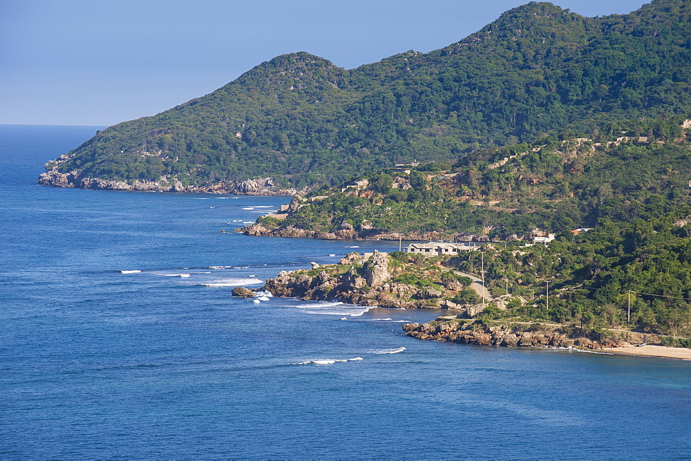 View over the beautiful coastline of Labadie, Cap Haitien, Haiti, Caribbean, Central America