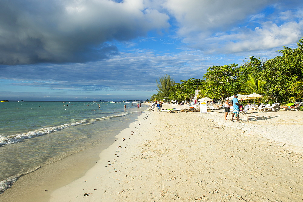 Seven Mile Beach, Negril, Jamaica, West Indies, Caribbean, Central America