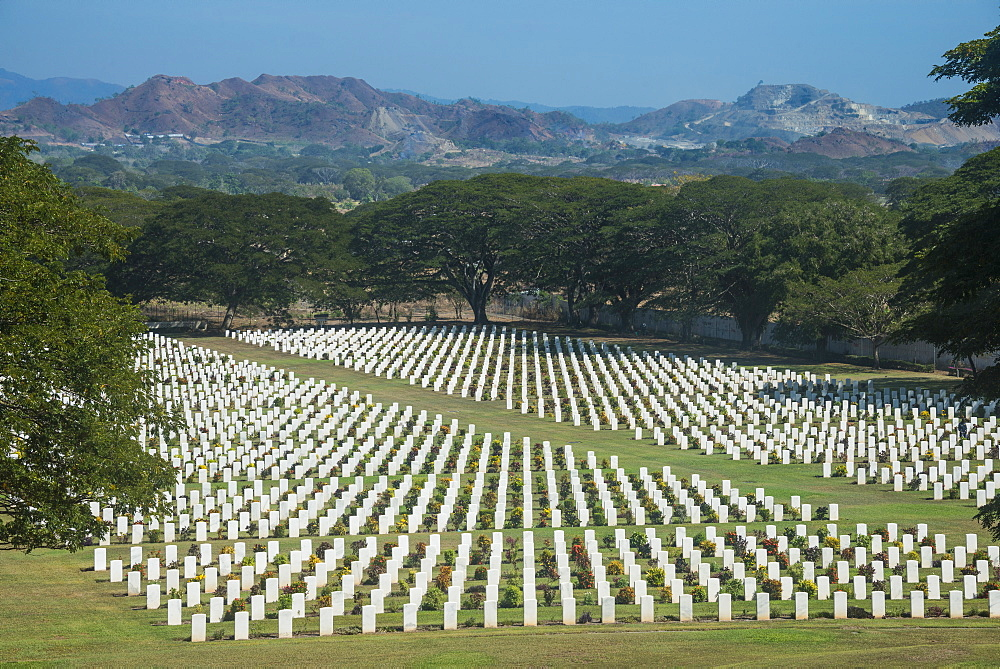 Bomana War Cemetery, Port Moresby, Papua New Guinea, Pacific
