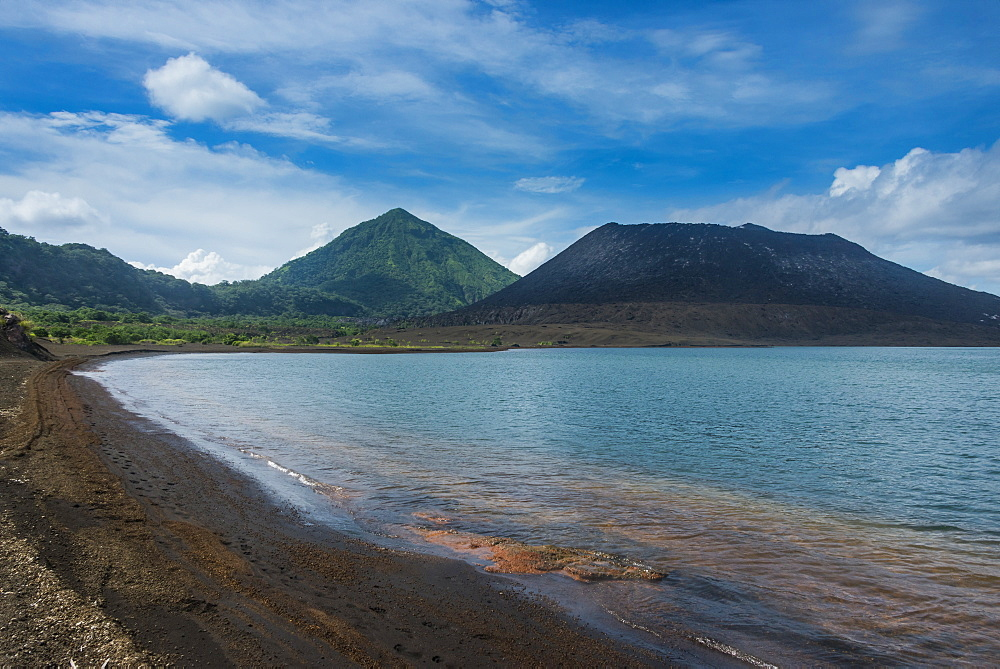 Volcano Tavurvur, Rabaul, East New Britain, Papua New Guinea, Pacific
