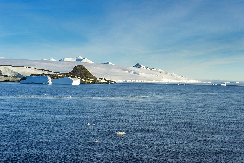Glaciers in Hope Bay, Antarctica, Polar Regions