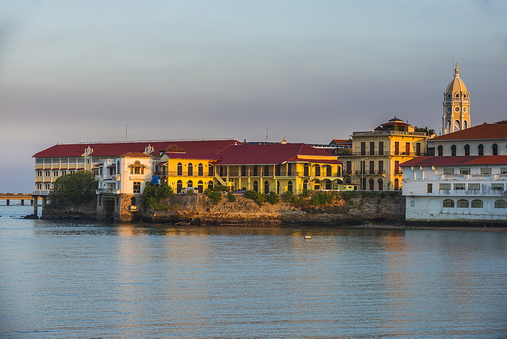 Skyline of Casco Viejo, UNESCO World Heritage Site, Panama City, Panama, Central America