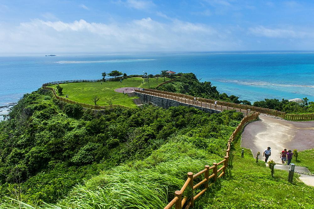 Unesco world heritage sight, Sacred site Sefa Utaki, Okinawa, Japan