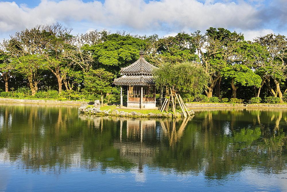 Unesco world heritage sight Shikinaen Garden, Naha, Okinawa, Japan
