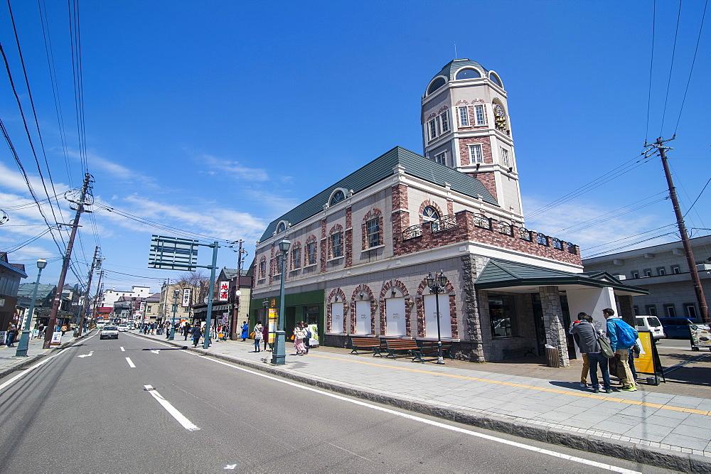 Historic building in Sakaimachi street, Otaru, Hokkaido, Japan