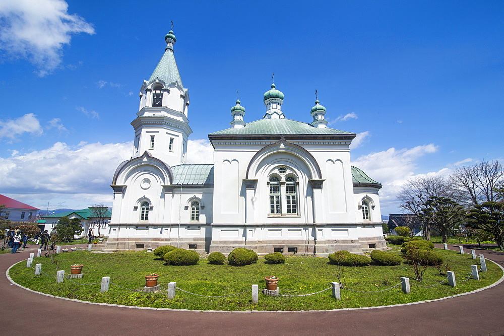 Hakodate Russian Orthodox Church, Motomachi district, Hakodate, Hokkaido, Japan