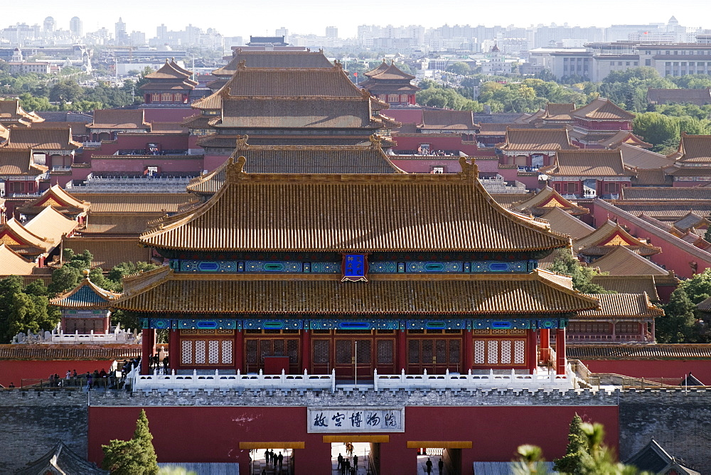 Forbidden City, China, Beijing, Asia