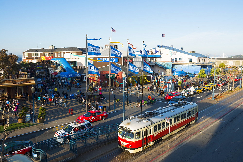 Pier 39, San Francisco, California, United States of America, North America