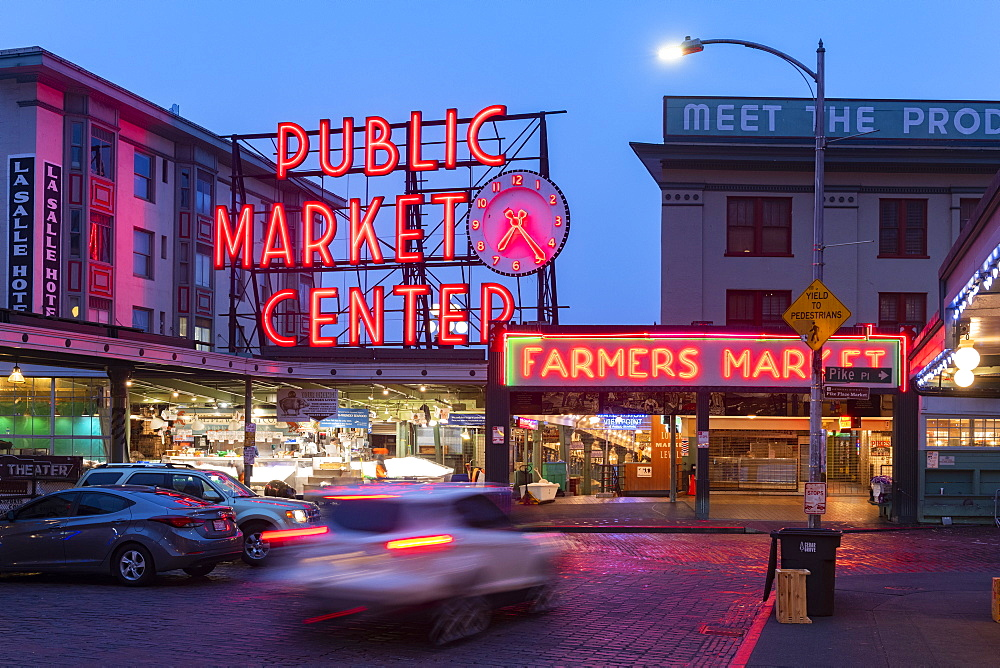 Pike Place Market Seattle, Washington, United States of America