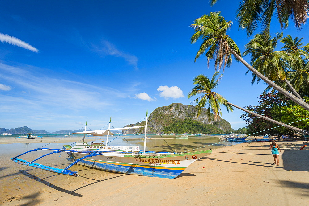Bacuit Bay, El Nido, Palawan, Mimaropa, Philippines, Southeast Asia, Asia