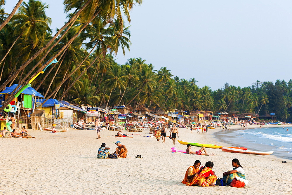 Palolem beach, Goa, India, Asia - 1186-46