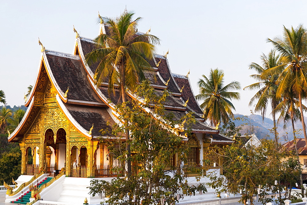 Royal Palace, Luang Prabang, Laos, Indochina, Southeast Asia, Asia - 1186-50
