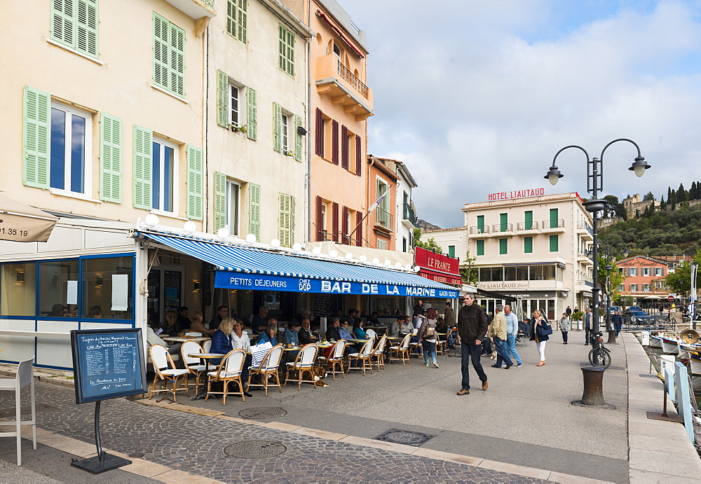 Cafe Cassis, Bouches du Rhone France - 1186-742