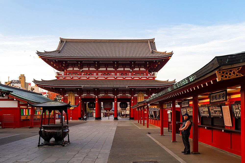 Sensoji Temple in Cherry blossom season - 1186-777
