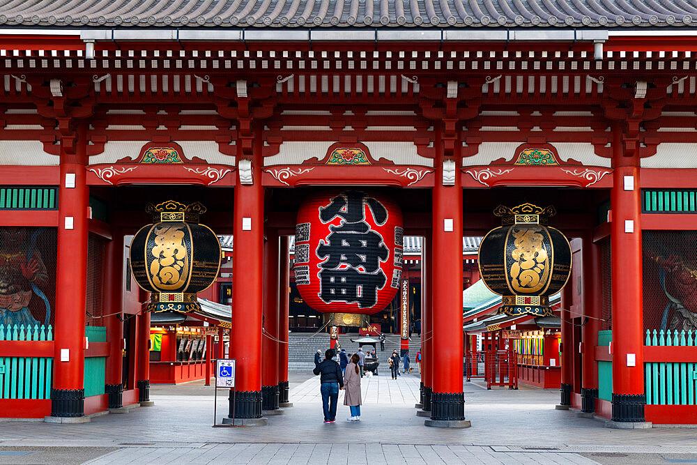 Sensoji Temple in Cherry blossom season - 1186-779