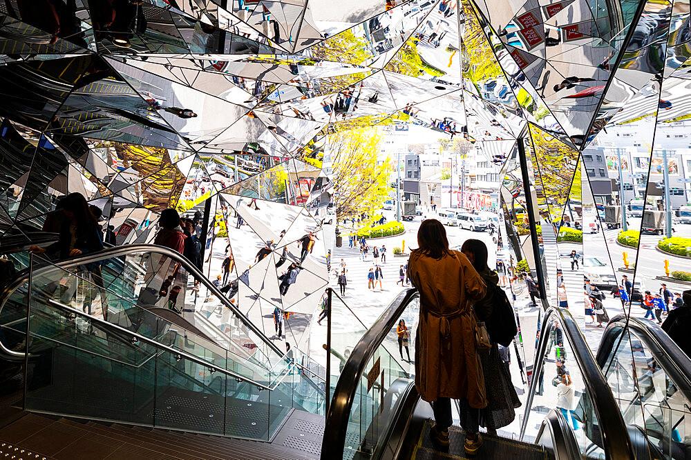 Entrance to Tokyo Plaza Omotesando Harajuku - 1186-787