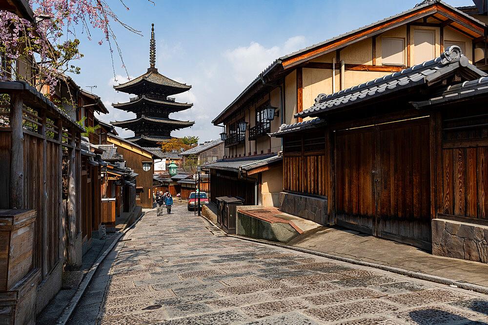Hōkanji Temple Kyoto, Japan, Asia