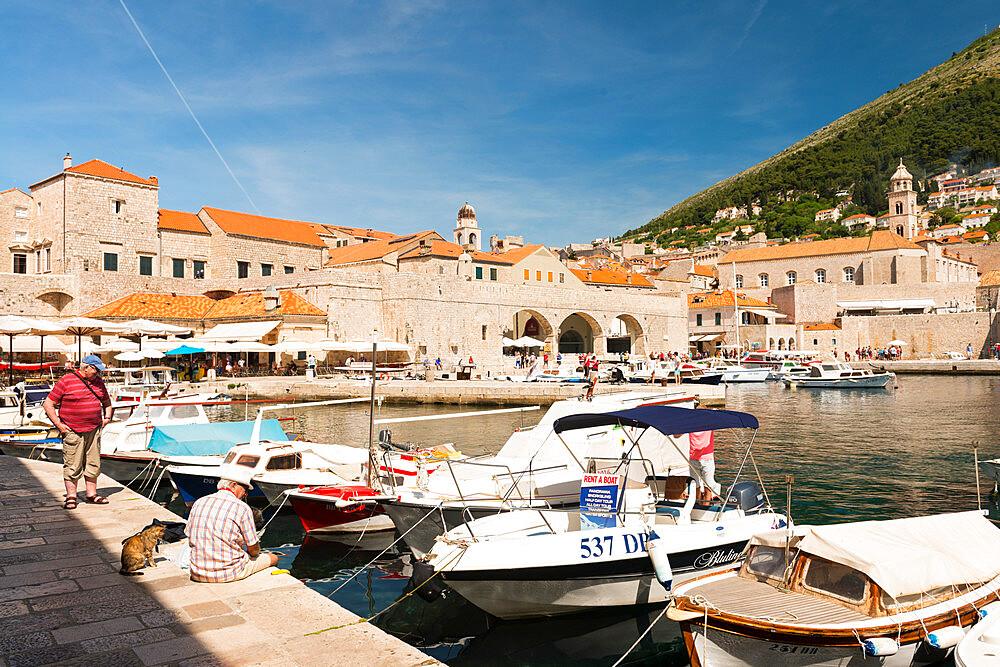Dubrovnik's old town port