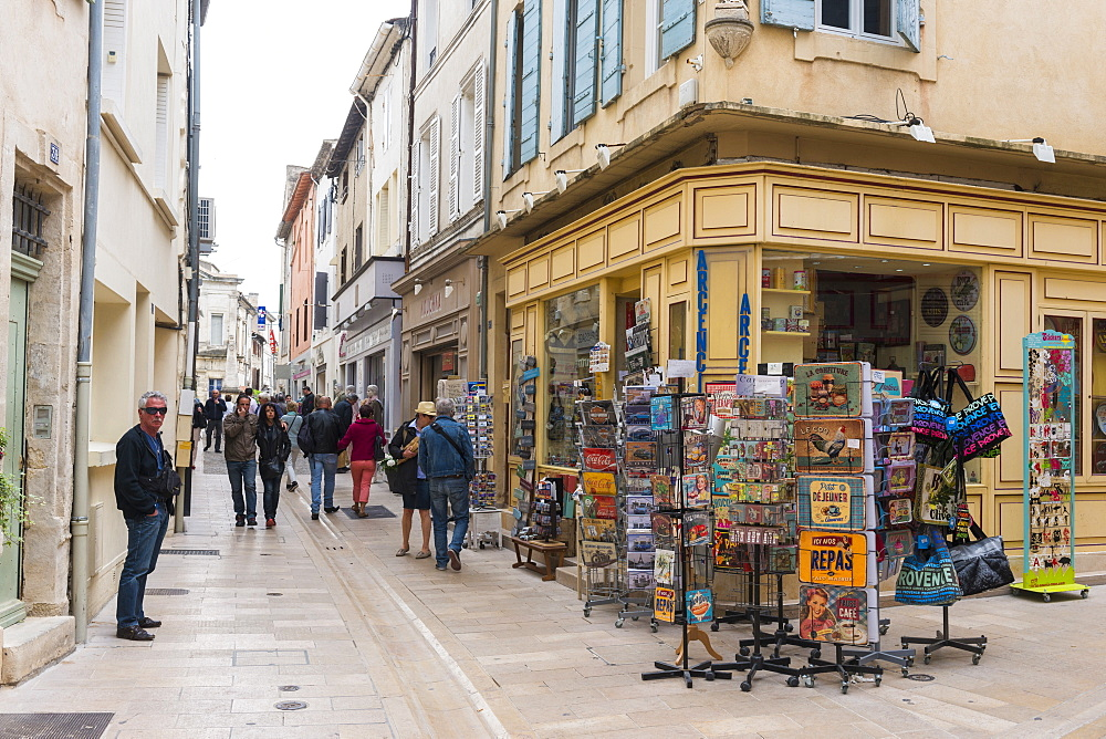 Streets of St. Remy de Provence, Provence, France, Europe