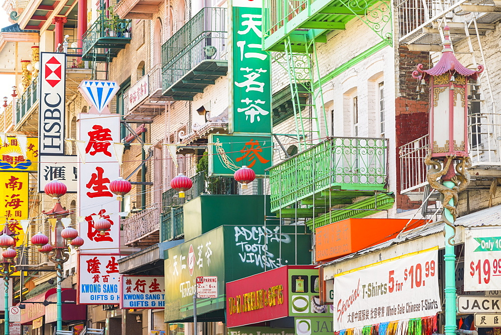China Town, San Francisco, California, United States of America, North America