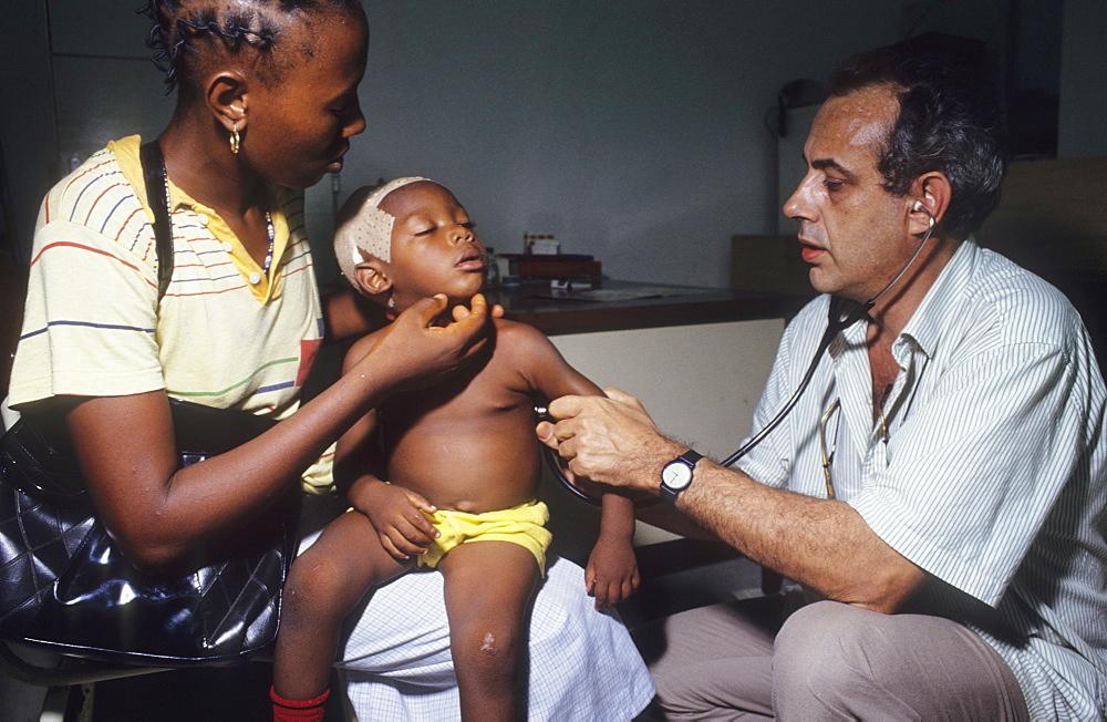 Tuberculosis ward, cameroon. Laquintinie hospital, douala