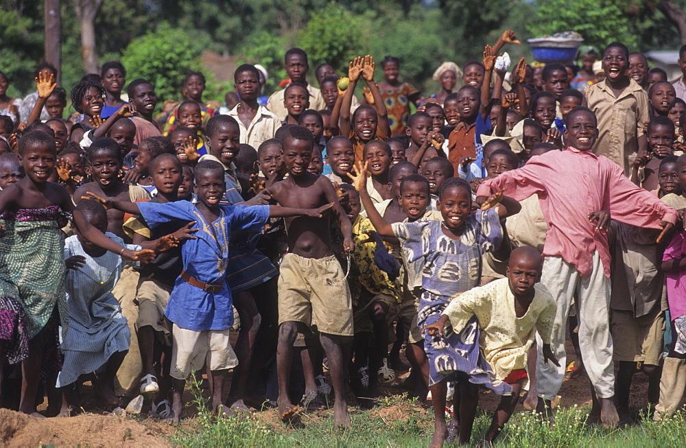 Children, ivory coast. Dioulatiedougou village