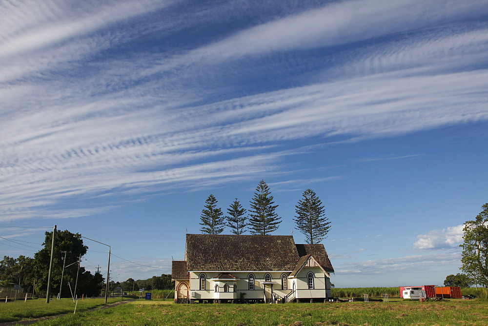 Church in the farmlands of New South Wales, Australia, Pacific