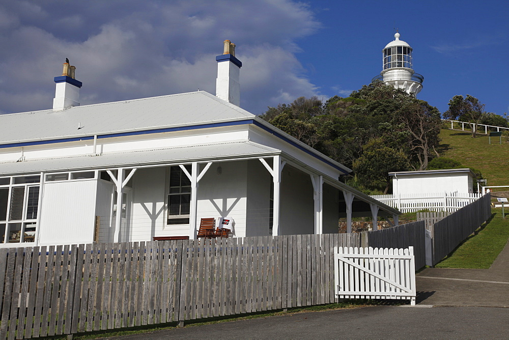 Lighthouse in Myall Lakes National Park in New South Wales, Australia, Pacific