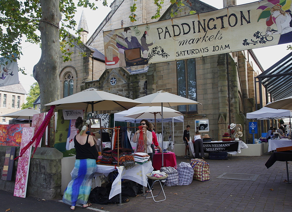 Paddington art and antique market., Sydney, Australia