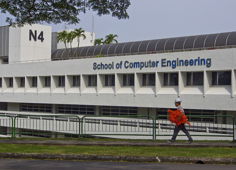 The school of computer engineering at the National University  of Singapore (NUS), Singapore, Southeast Asia, Asia