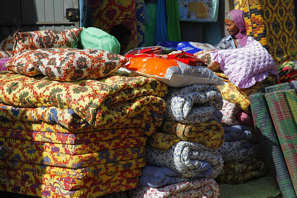 Market place in Bahir Dar, Ethiopia, Africa