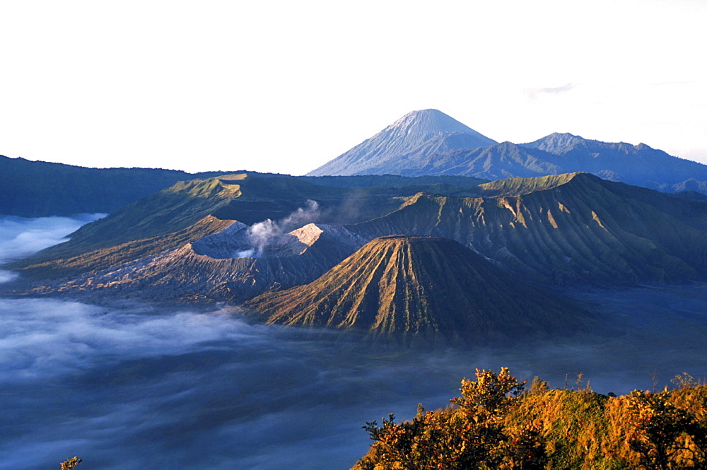 Volcano, indonesia. East java. Mount bromo volvanic national park