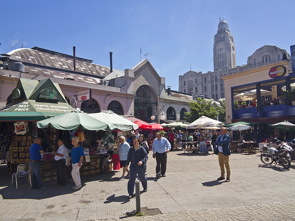 Mercado del Puerto, Montevideo, Uruguay, South America