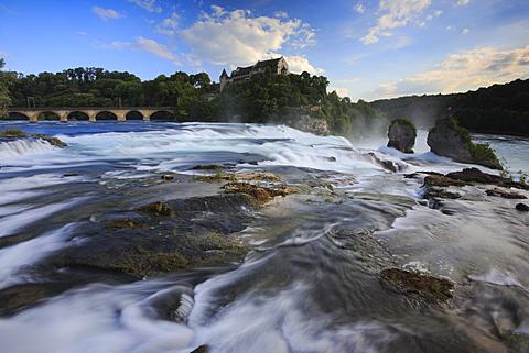 Rheinfall (Rhine Falls), Switzerland, Europe