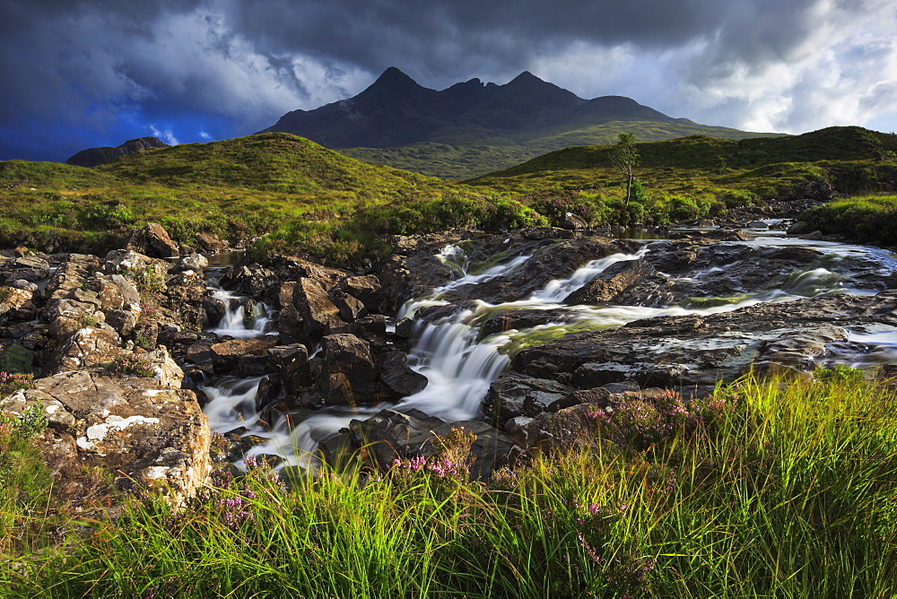 Cuillin Hills, Isle of Skye, Inner Hebrides, Scotland, United Kingdom, Europe - 1189-4